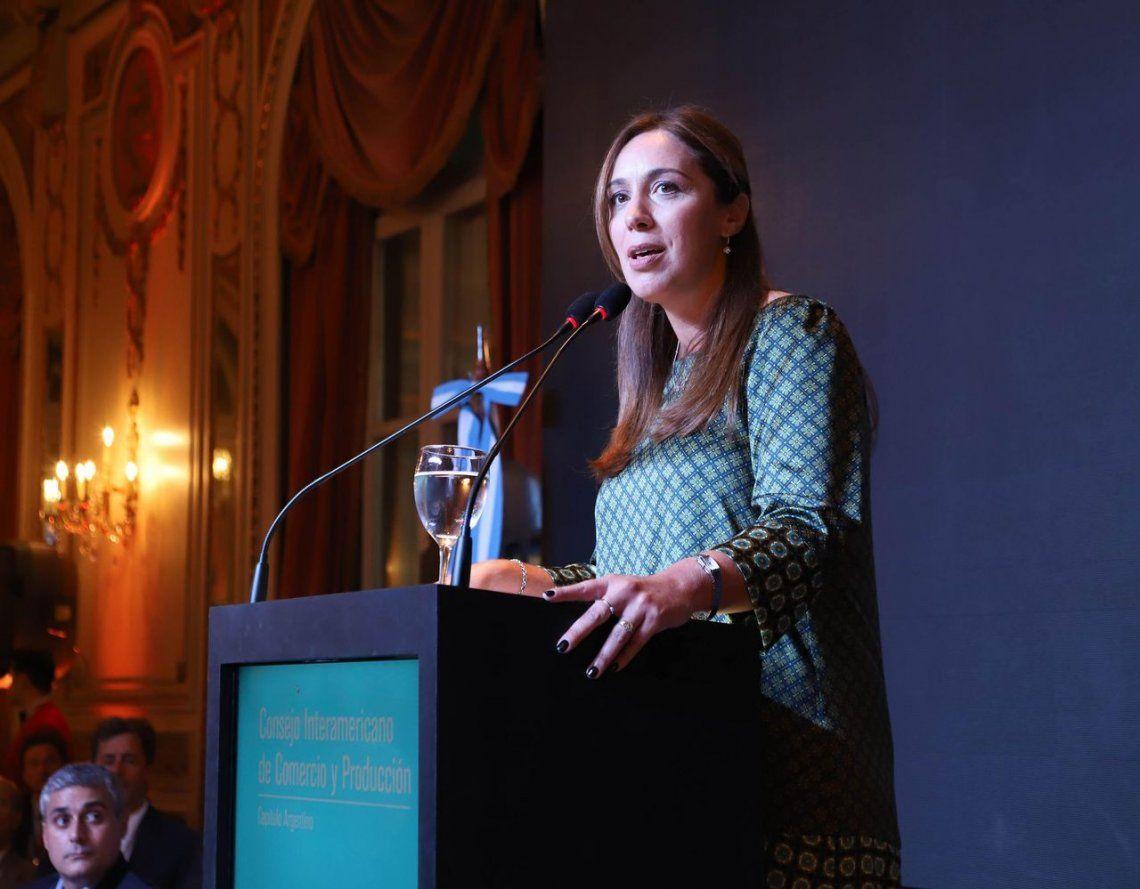 Mientras se impone el plan A, la gobernadora Vidal se pone decididamente en modo campaña