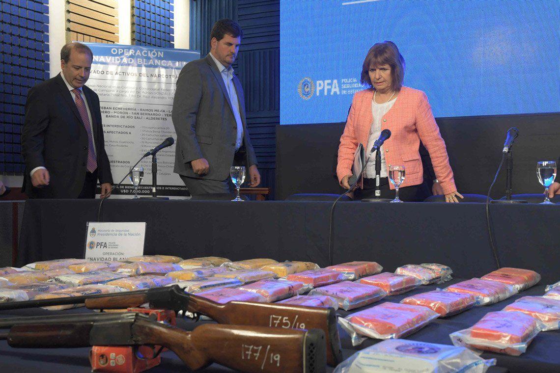 Operación Navidad Blanca II: 8 detenidos y 77.000 dosis de cocaína incautadas