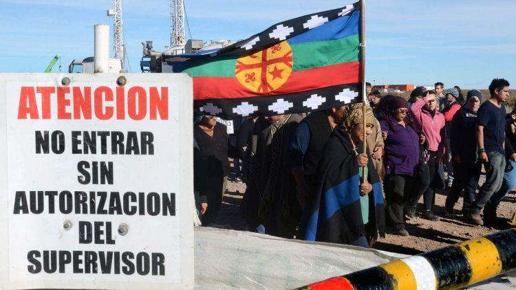 Absolvieron a mapuches acusados de usurpar tierras en Vaca Muerta