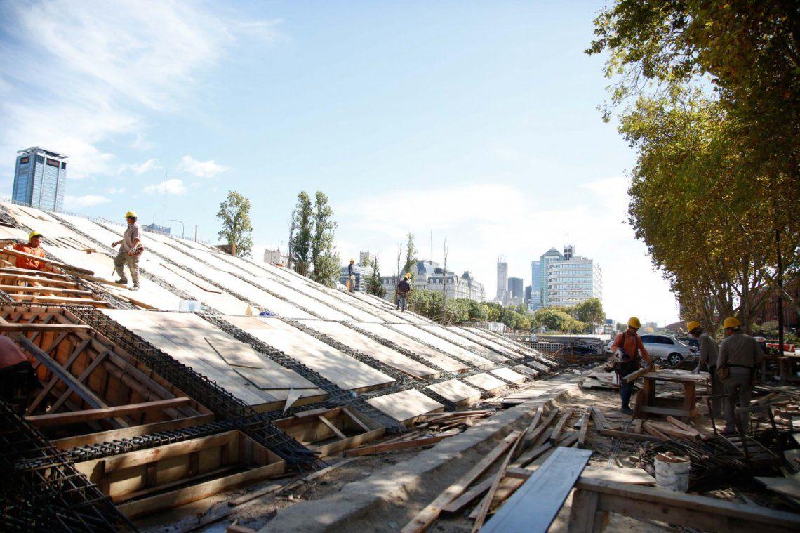 Paseo del Bajo: una escalinata para unir la Casa Rosada y Puerto Madero