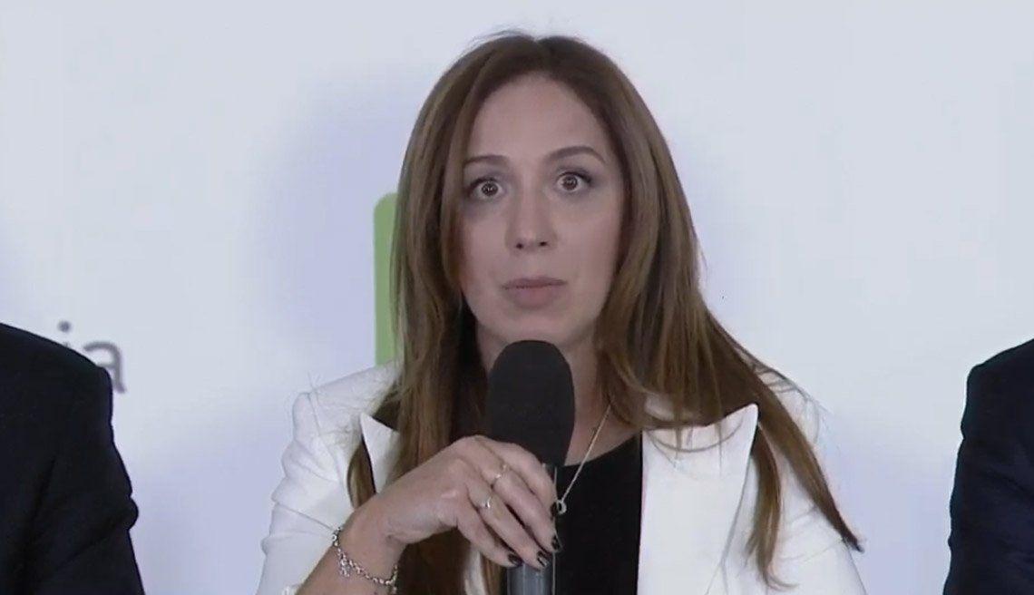 Inflación: María Eugenia Vidal anunció un paquete de medidas para llevar alivio a los bonaerenses