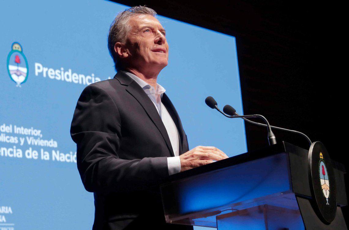 Mauricio Macri: El riesgo país sube porque en el mundo hay miedo de que los argentinos quieran volver atrás