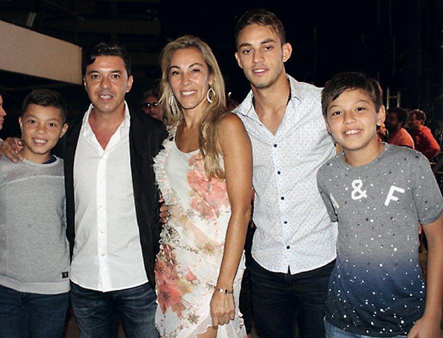 La mujer de Marcelo Gallardo aseguró: Todo bien con Wanda, pero jamás representaría a mi marido