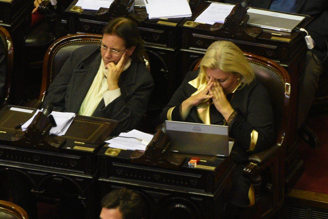 Tras los dichos sobre De la Sota, el Gobierno hizo volver a Carrió de Córdoba