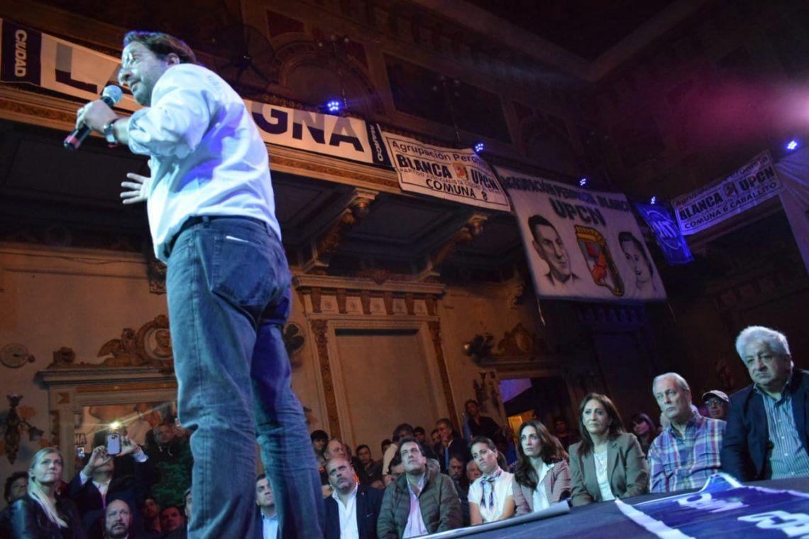 Marco Lavagna continúa firme en su candidatura a jefe de Gobierno