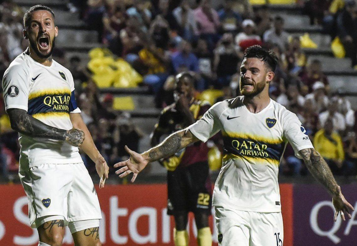 Alfaro respira: Benedetto está bien de la molestia muscular y el DT xeneize podrá tenerlo en cuenta con Vélez por la Copa de la Superliga