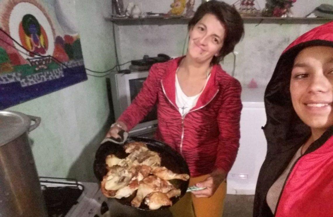 La Matanza: Claudia Leguizamón se sobrepuso al dolor y hoy  es la encargada del barrio