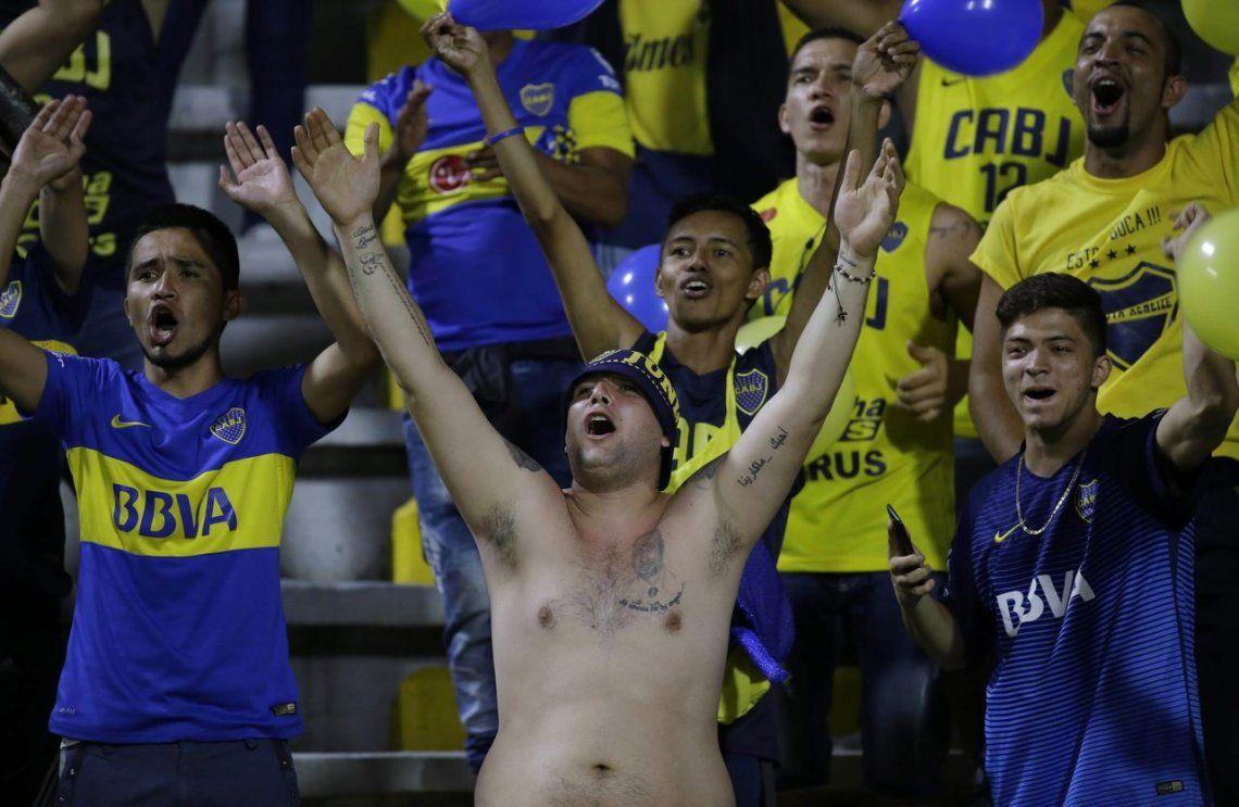 En fotos: noche de Copa positiva para Boca y River