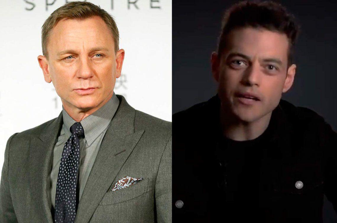 La nueva película de James Bond tendrá a Rami Malek como villano