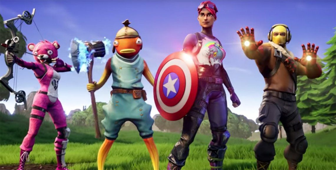 Avengers Endgame: ¡Thanos invadió la isla de Fortnite!