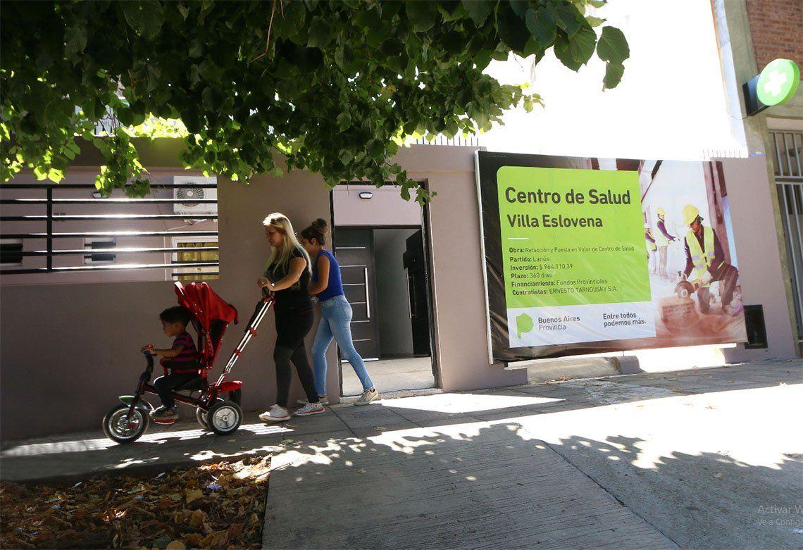 Lanús: más servicios de salud para Villa Eslovena