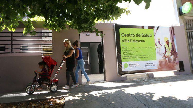 Más servicios de salud para Villa Eslovena
