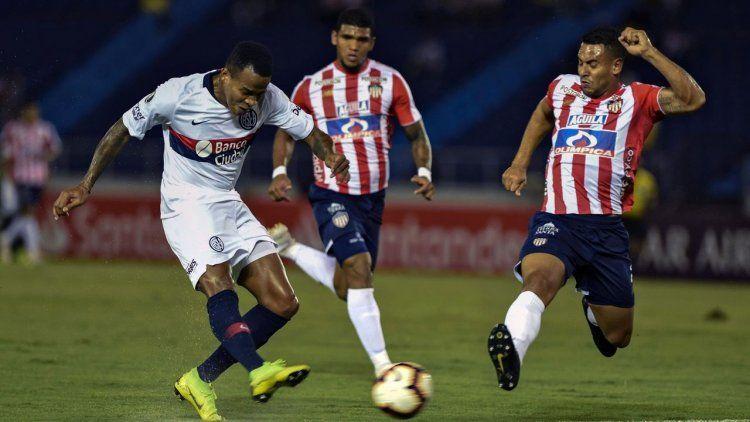 San Lorenzo cayó ante Junior en Barranquilla y demora su clasificación