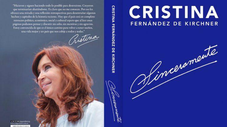 Frases destacadas de Sinceramente, el libro de Cristina Kirchner