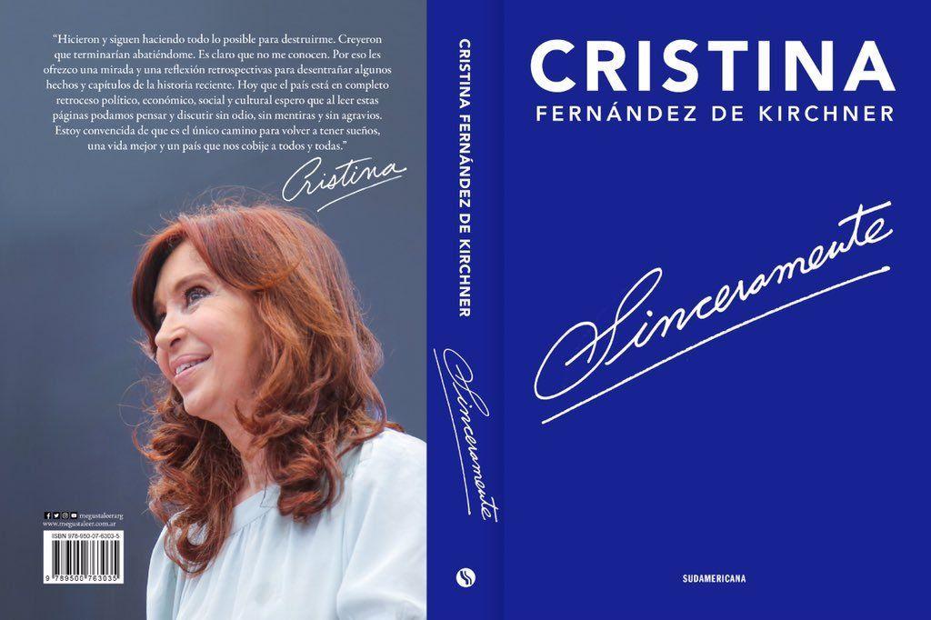 Sinceramente, el libro de Cristina Kirchner: las frases sobre Néstor Kirchner, Amado Boudou, Mauricio Macri, Gabriela Michetti y el Papa Francisco