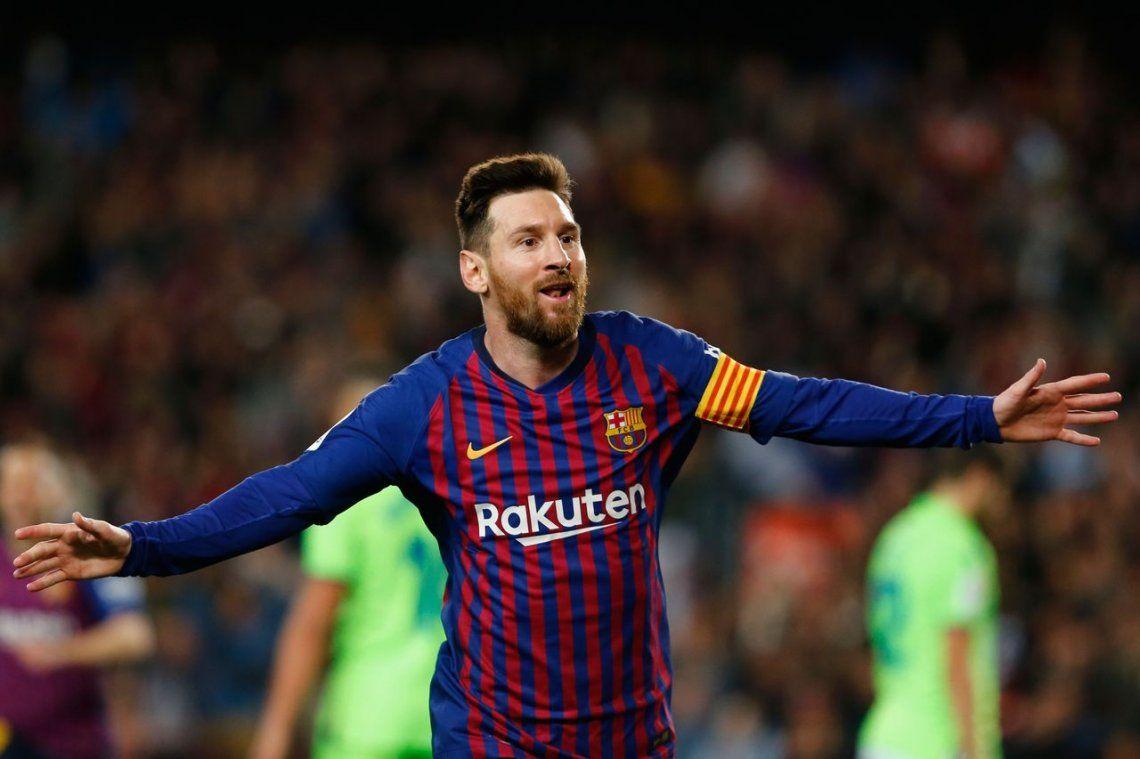 Con un gol de Messi, Barcelona le ganó 1-0 al Levante y es el bicampeón de España