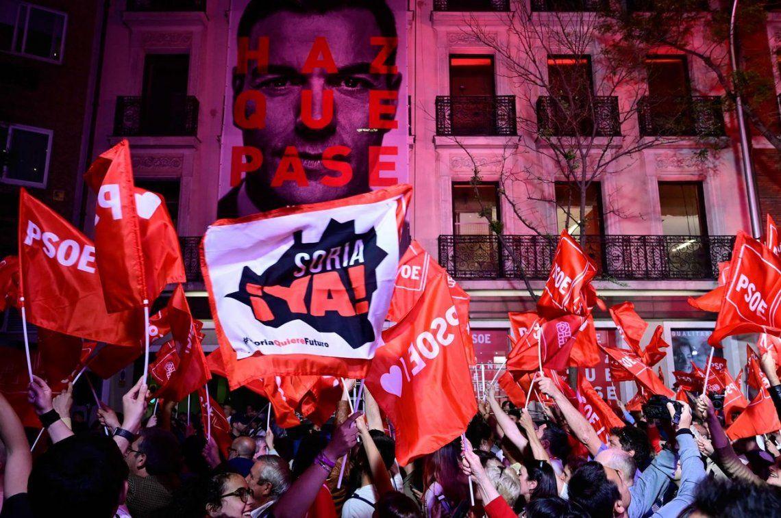 El Partido Socialista Obrero se impuso en España pero no logró la mayoría