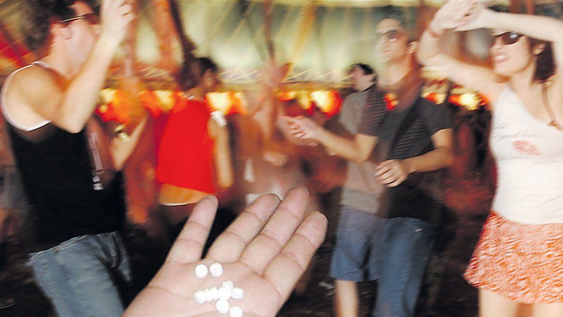 Creció mucho el consumo de droga en los jóvenes