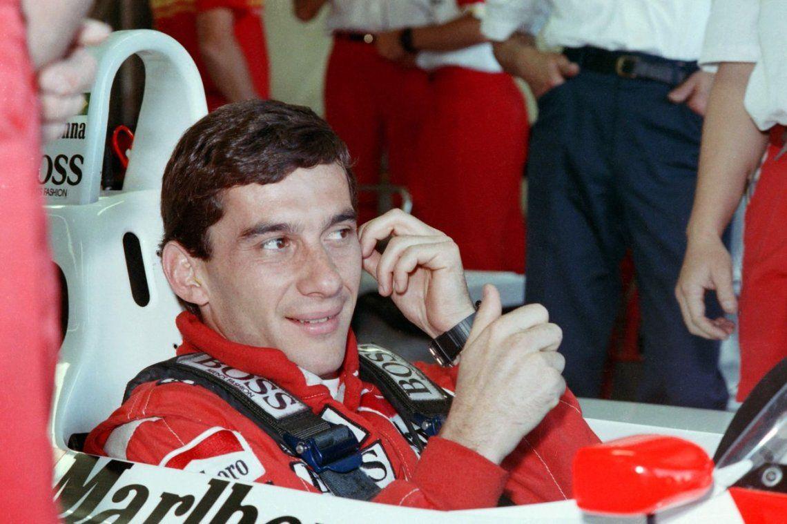 Cinco momentos en la carrera de Ayrton Senna