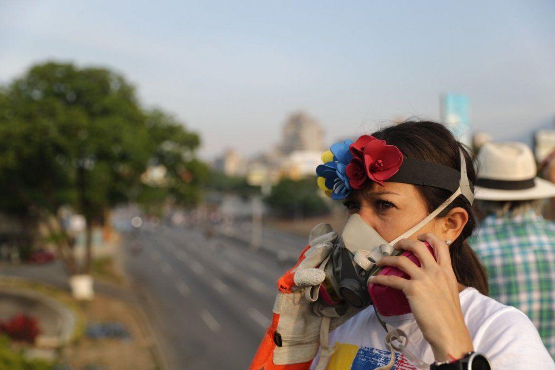 Fotos: incidentes entre las fuerzas de Maduro y las opositoras