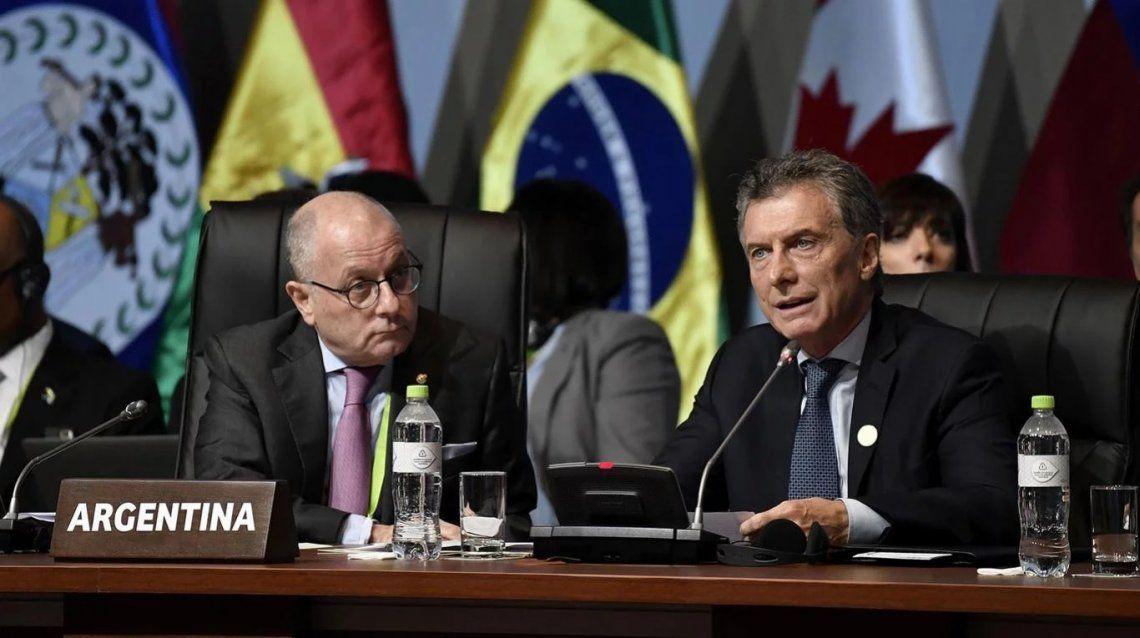 """Macri apoyó a Guaidó: """"Apoyamos más que nunca la democracia en Venezuela»"""