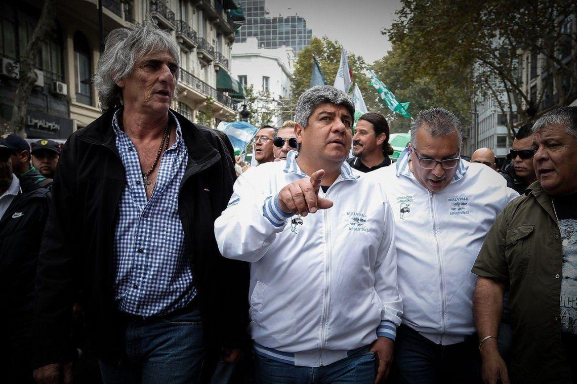 Pablo Moyano: El paro fue contundente, que se metan la multa en el c..., nadie nos aprieta