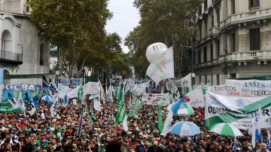 El Paro Nacional del sindicalismo opositor, minuto a minuto