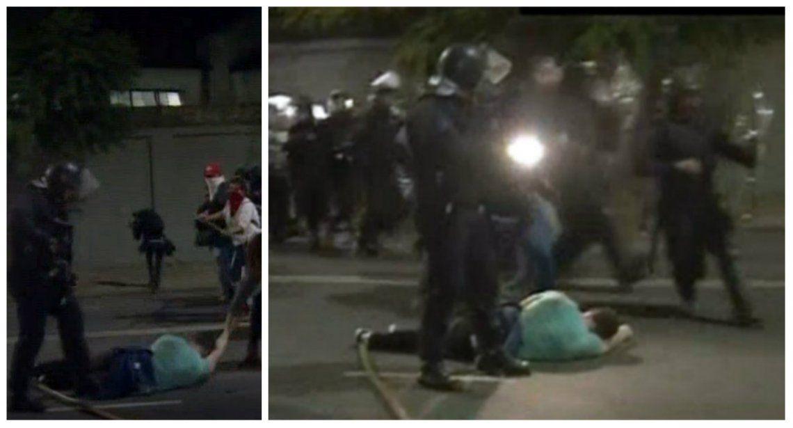 Incidentes entre chavistas y opositores en la embajada de Venezuela en Buenos Aires