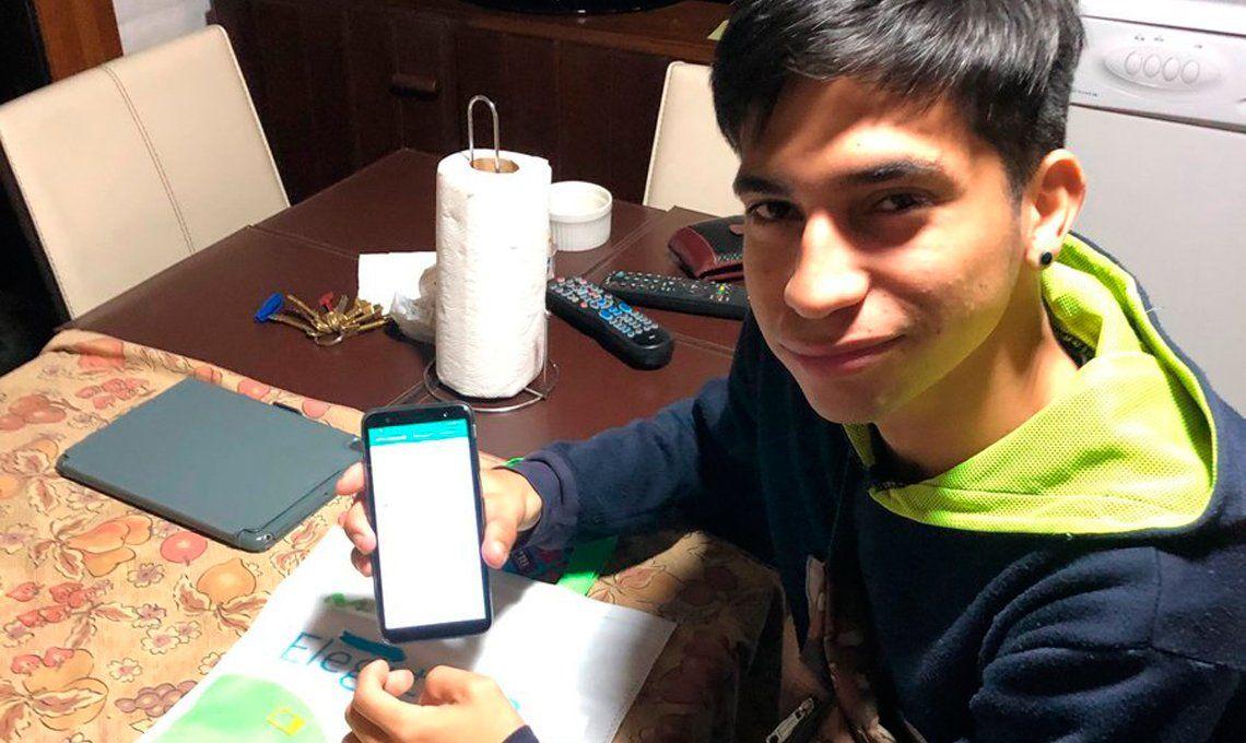 #GraciasFernando: el gesto de un argentino con un joven venezolano que se convirtió en tendencia