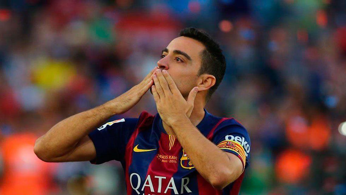 Xavi Hernández anunció su retiro del fútbol