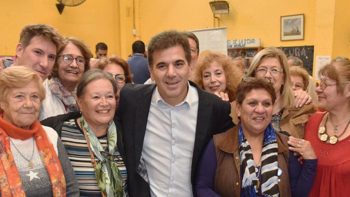 Ritondo participó de un taller de prevención de delitos para adultos mayores en La Matanza