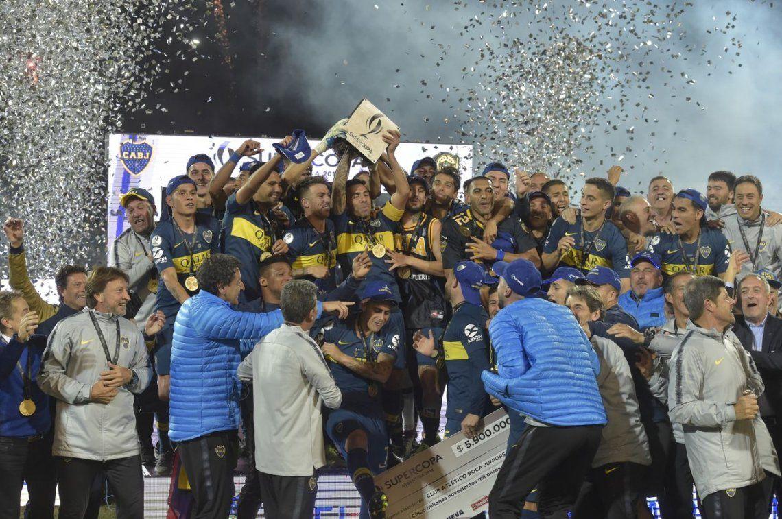 Boca - Rosario Central, final de la Supercopa Argentina: el Xeneize se coronó campeón tras ganar por penales