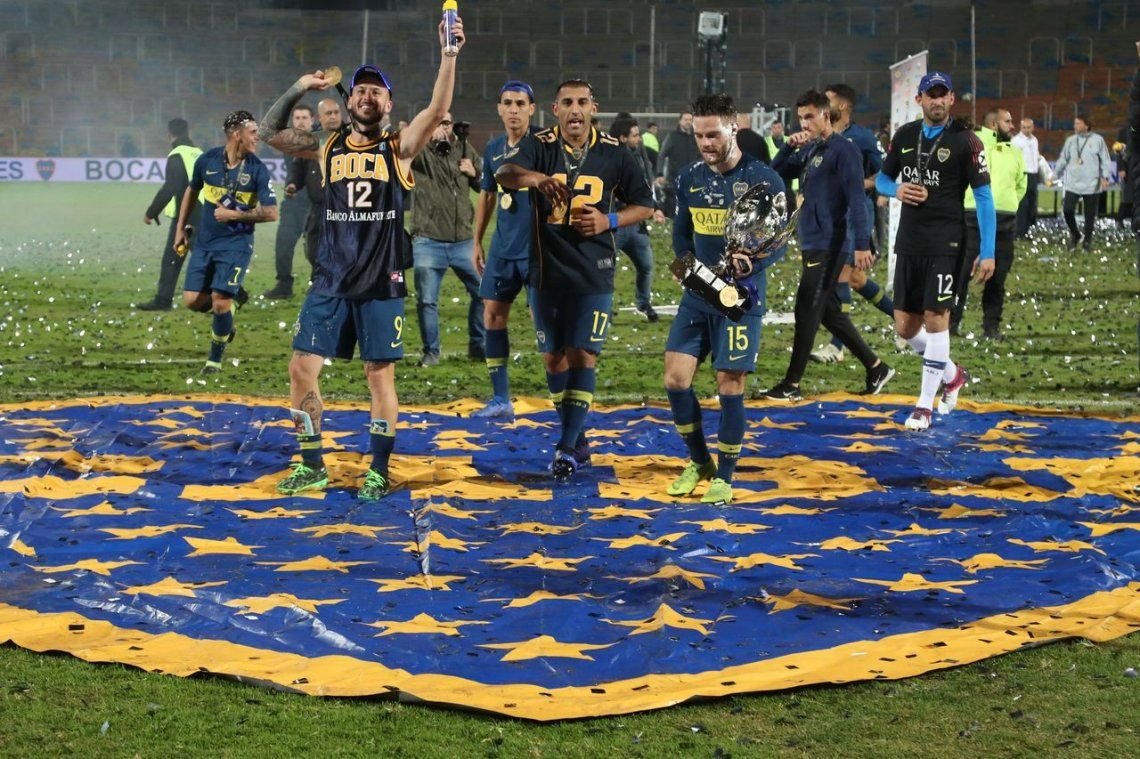 Bocaes el máximo ganador de copas nacionales y suma 13