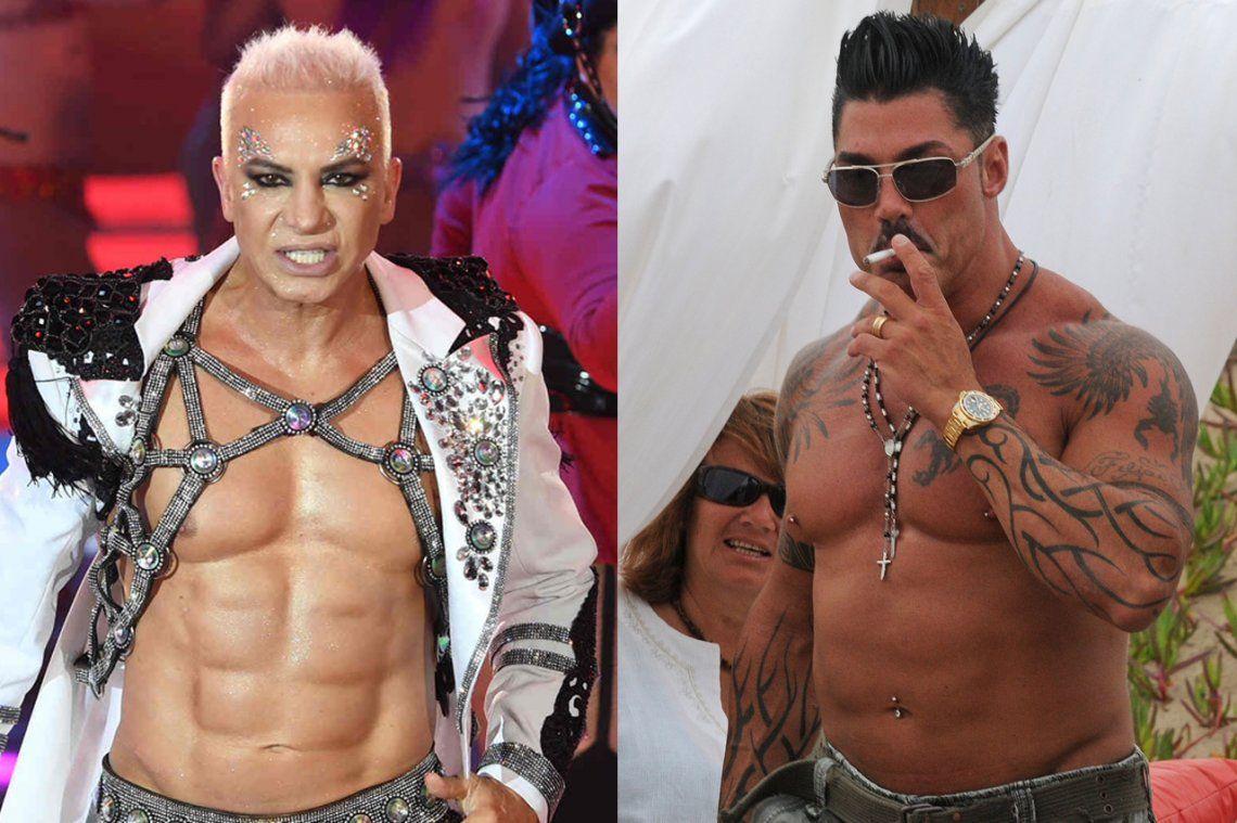 ¿Son los abdominales de Flavio Mendoza implantados como los de Ricardo Fort?