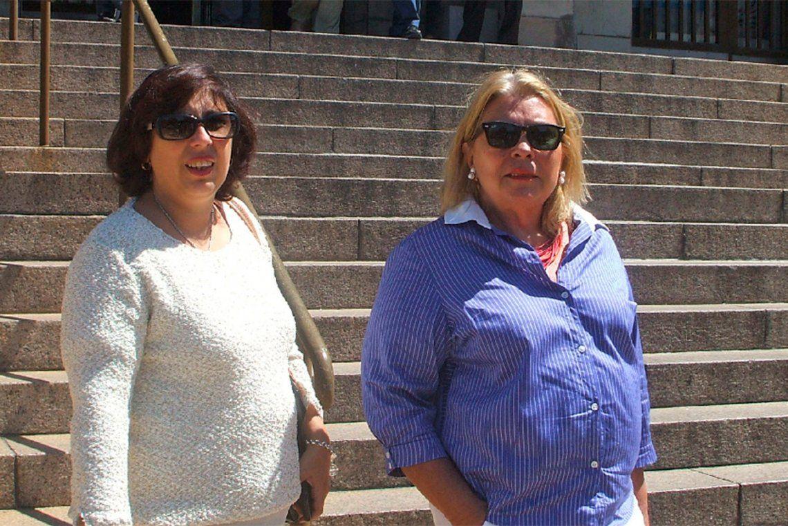 Carrió, Oliveto y Zuvic fueron imputadas por Ramos Padilla