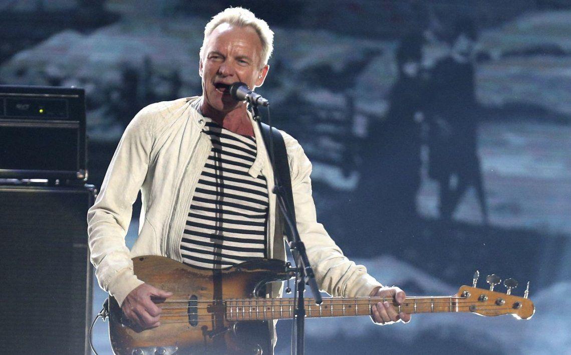 Sting: Estoy emocionado y asustado a la vez