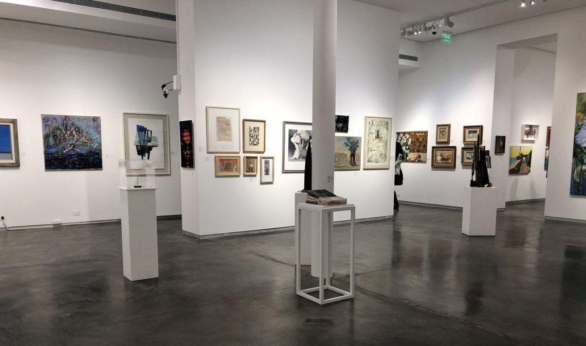 Remate anual de obras de arte argentino en el museo de artes plásticas Eduardo Sívori