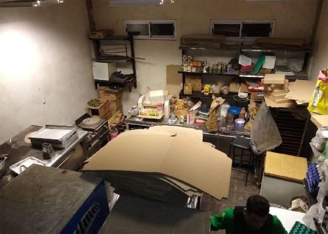 Florencio Varela: narcos vendían droga en cajas de pizza y empanadas