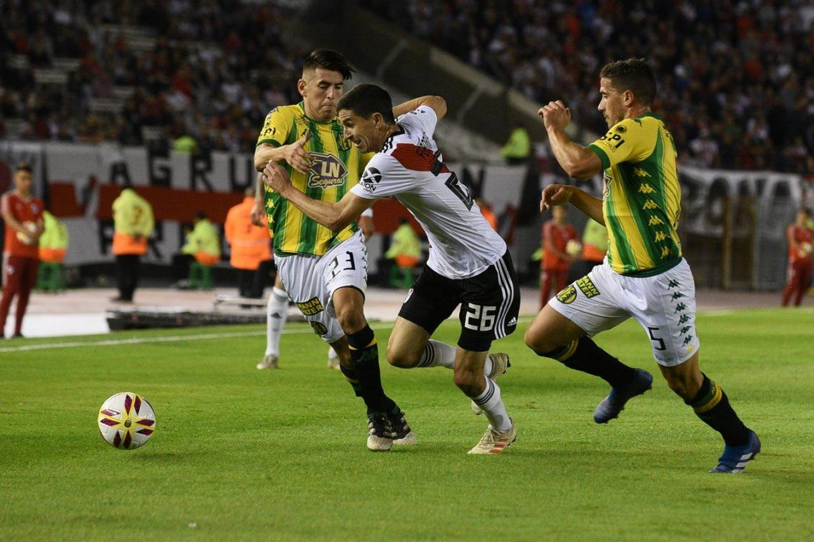 River goleó 6 a 0 a Aldosivi y estas son las mejores fotos