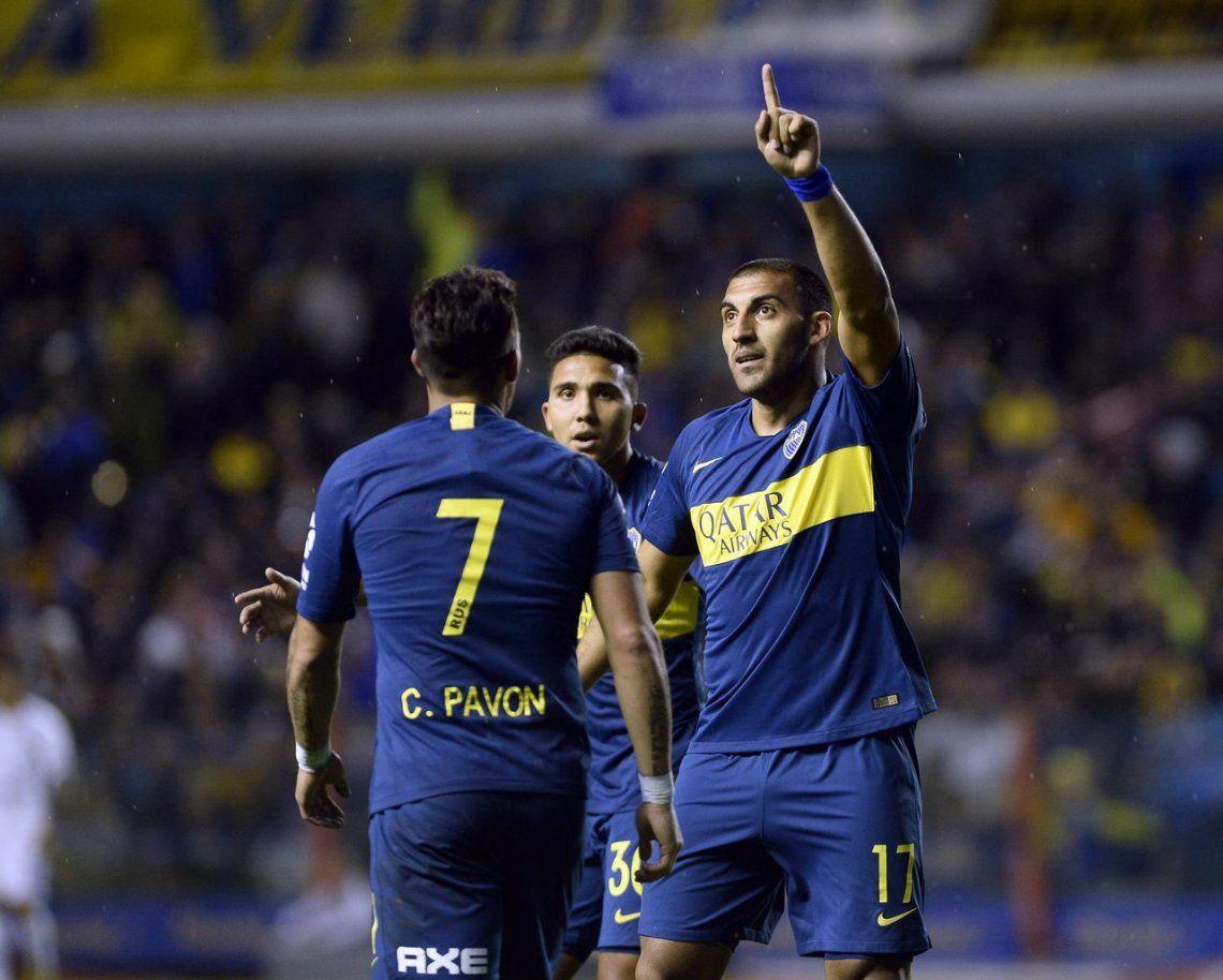 Boca pasó sin problemas a Godoy Cruz y también está en cuartos