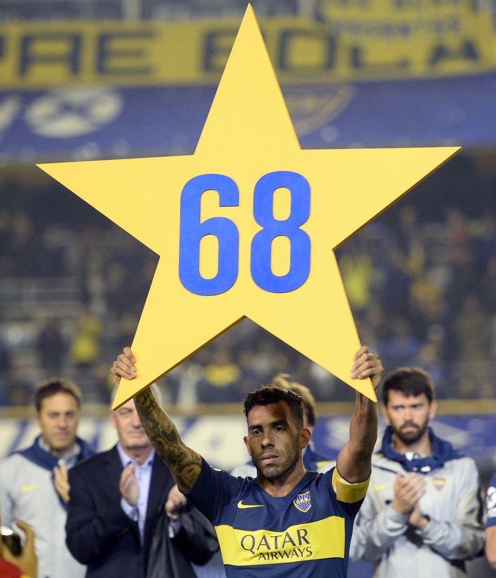 Fotos y videos: así fueron los festejos de Boca por la estrella número 68