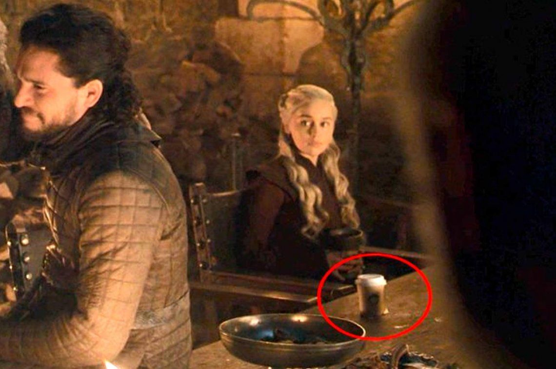 Insólito error: apareció un vaso de Starbucks en el capítulo de Game Of Thrones