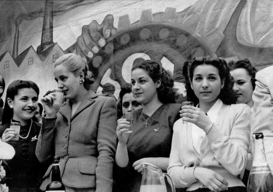 De los dichos a los hechos: el feminismo que rodeaba a Eva Perón