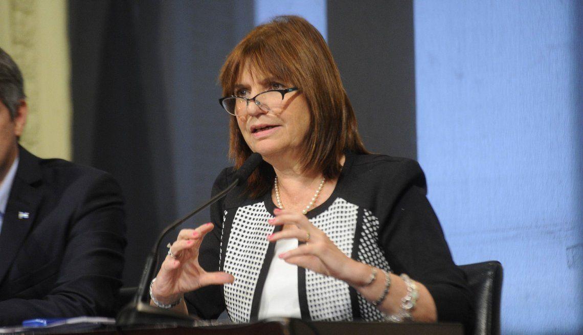 Bullrich admitió la incertidumbre del gobierno pero aclaró que no están planteando un cogobierno
