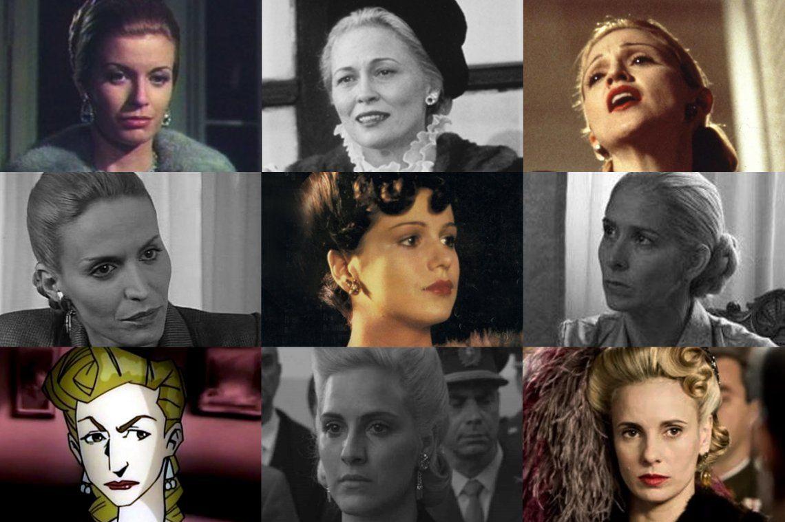 La figura mítica de Evita contada en 10 películas