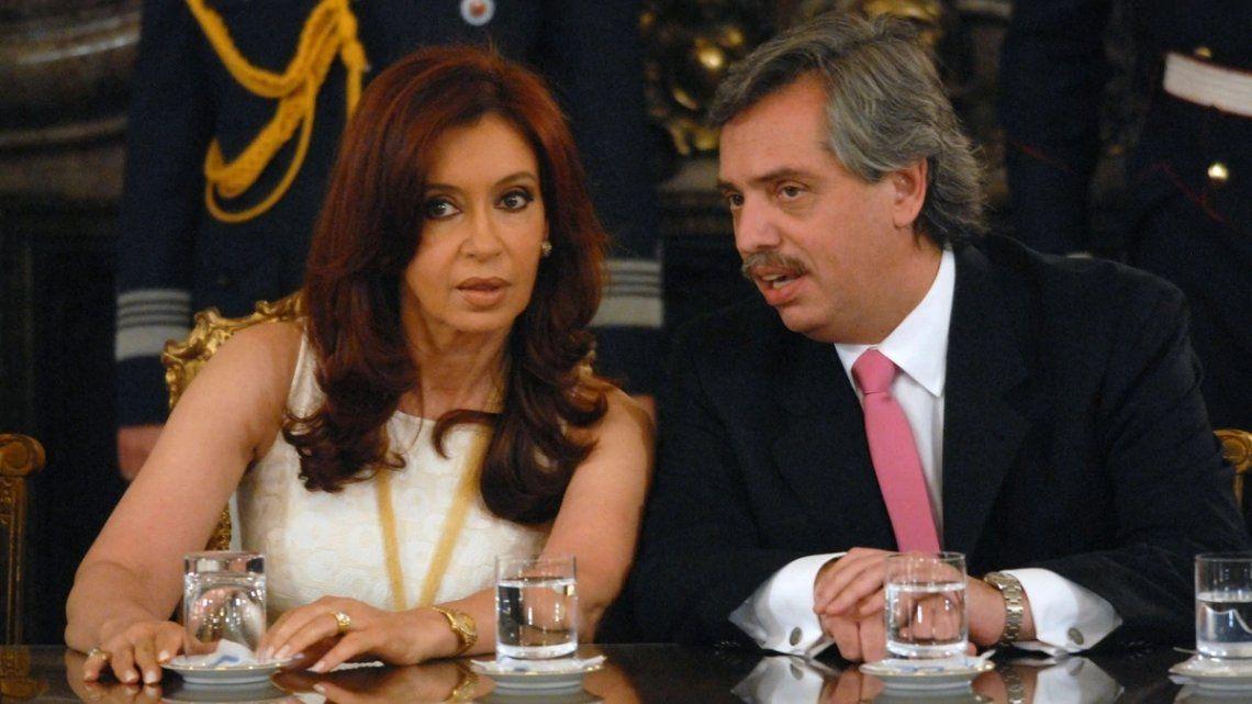 Alberto Fernández adelantó que Cristina Kirchner no firmará el acuerdo de gobernabilidad impulsado por Macri