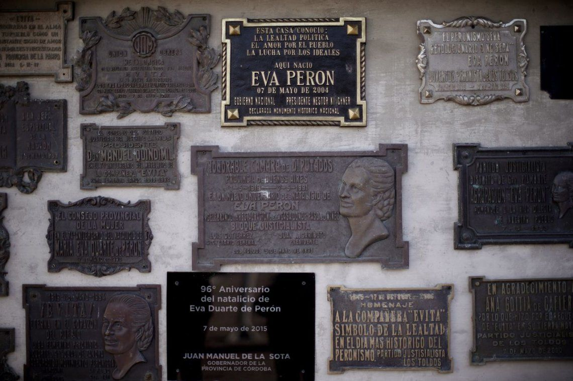 Un recorrido por Los Toldos, el pueblo natal de Evita, en fotos