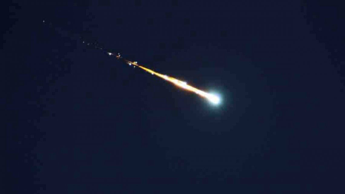 Reportan la caída de un meteorito en Uruguay: fue visto desde Buenos Aires