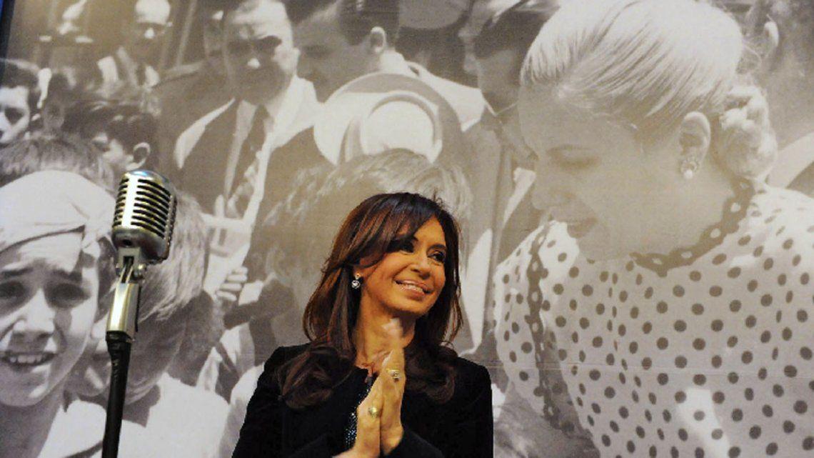 Cristina Kirchner recordó a Evita: Única e irrepetible