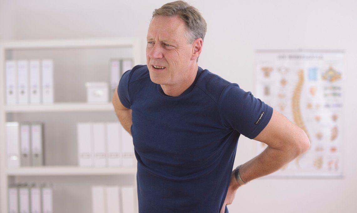 Hernia de disco: los problemas del esfuerzo desmedido